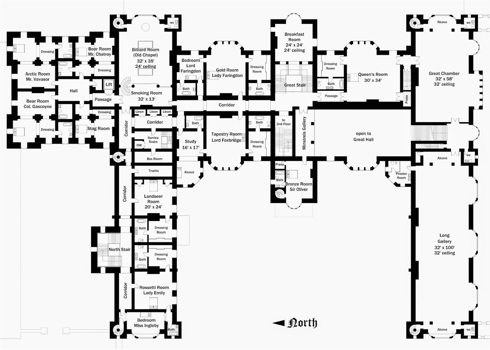 floor plans 30