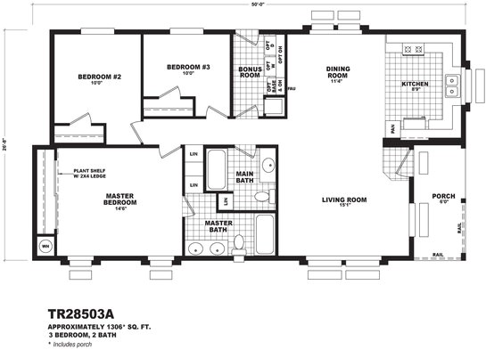 cavco mobile home floor plans
