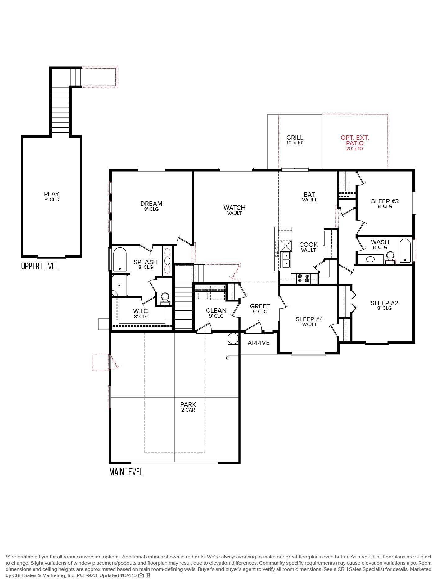 Cbh Homes Floor Plans Cbh Homes northern 1996 Floor Plan