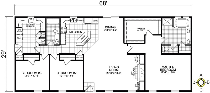 keystone homes floor plans luxury champion redman manufactured mobile homes home floor plans