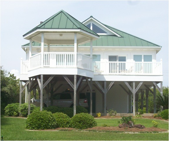 beautiful coastal house plans on pilings 9 beach house plans for homes on pilings