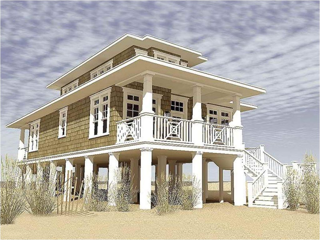 coastal living house plans on pilings