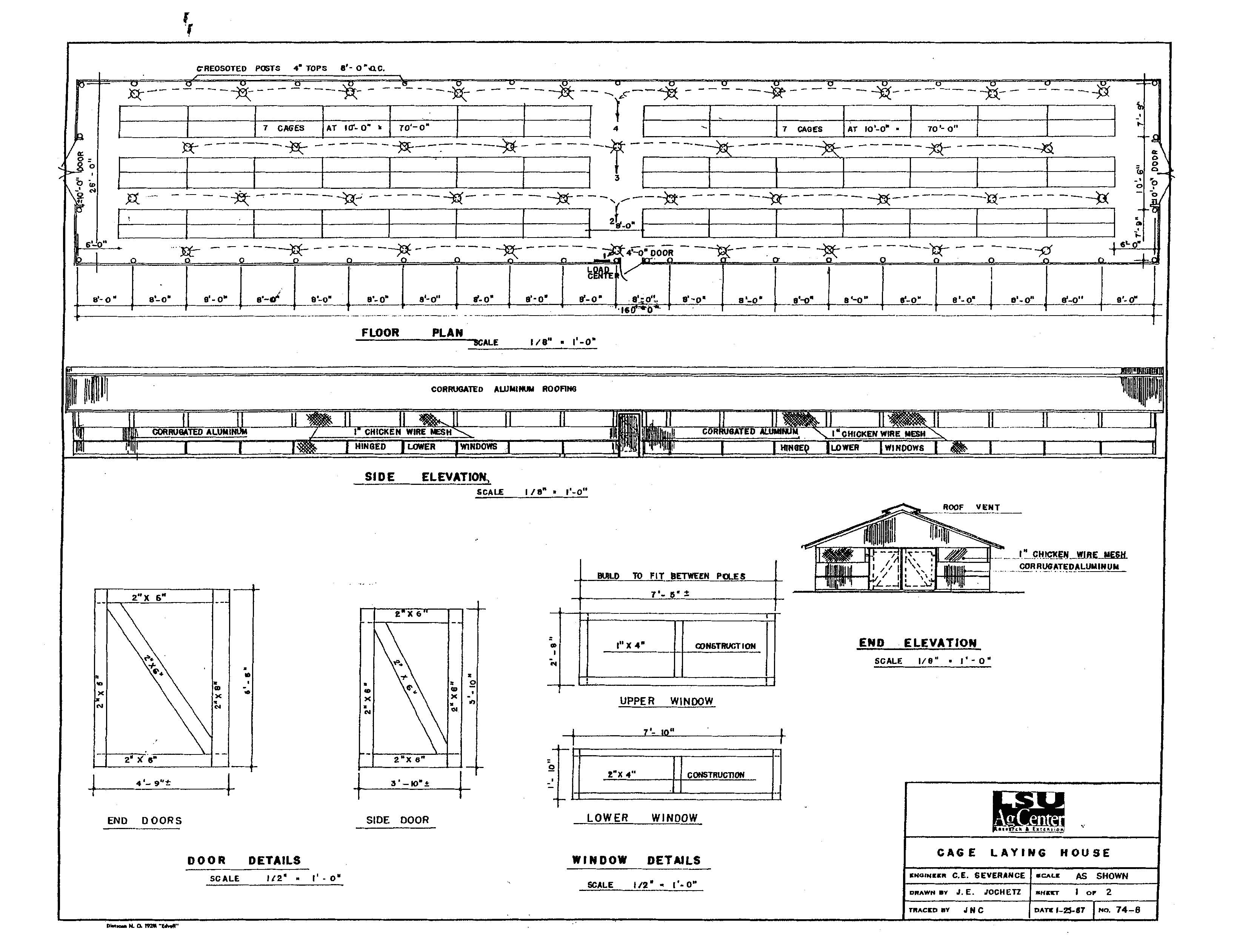 commercial poultry house construction