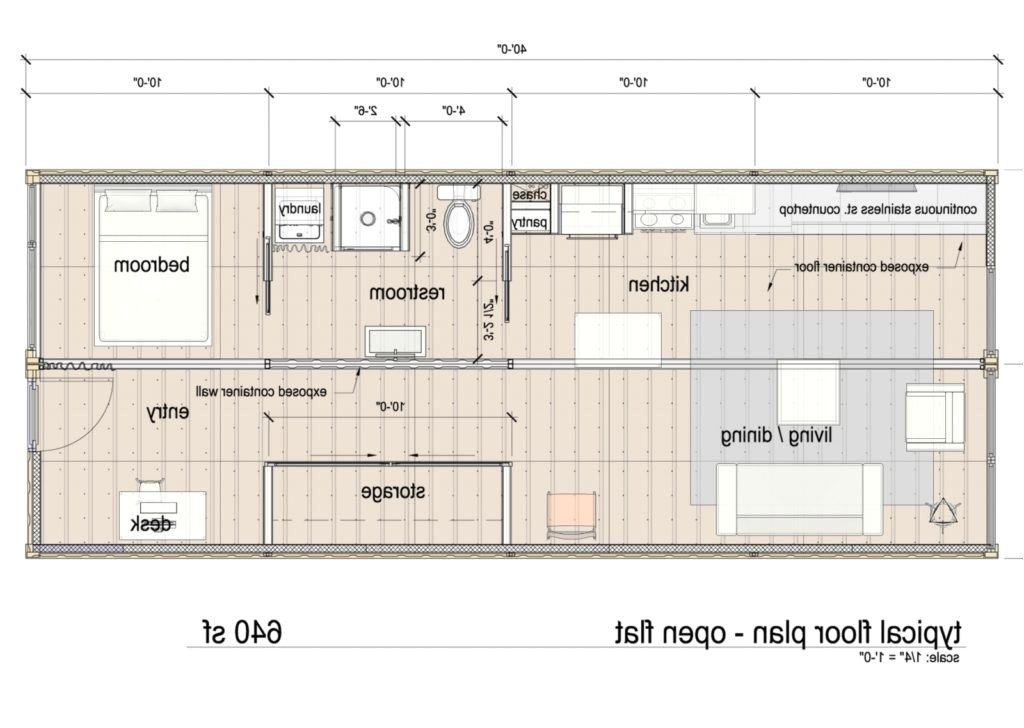 storage container homes plans ideas