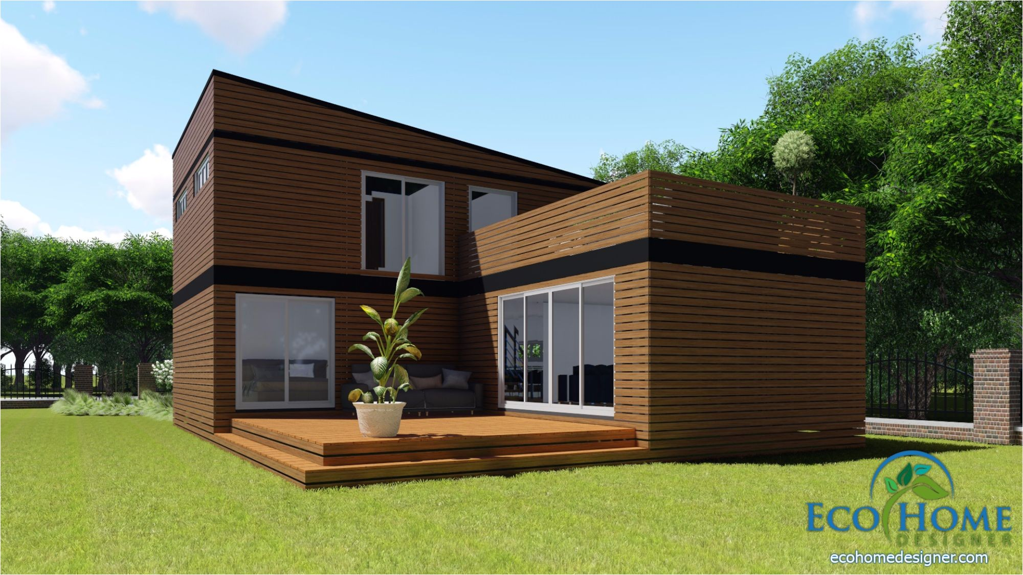 sch17 10 x 20ft 2 story container home