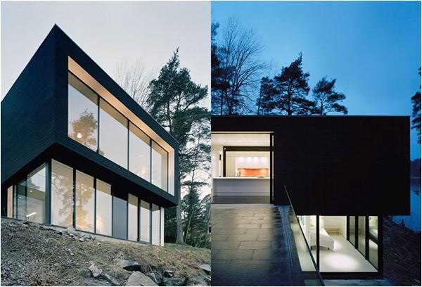 steep hillside house plans