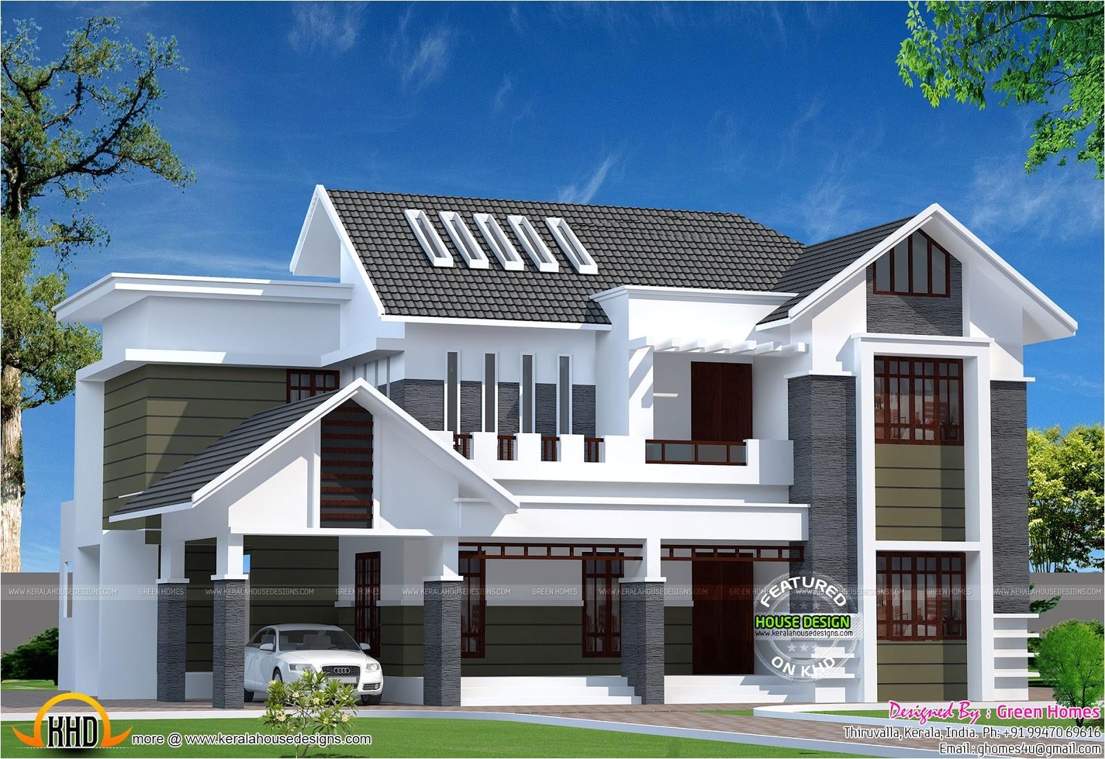 2800 sq ft modern kerala home
