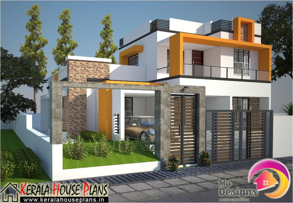 kerala contemporary house design 1830 sqft more