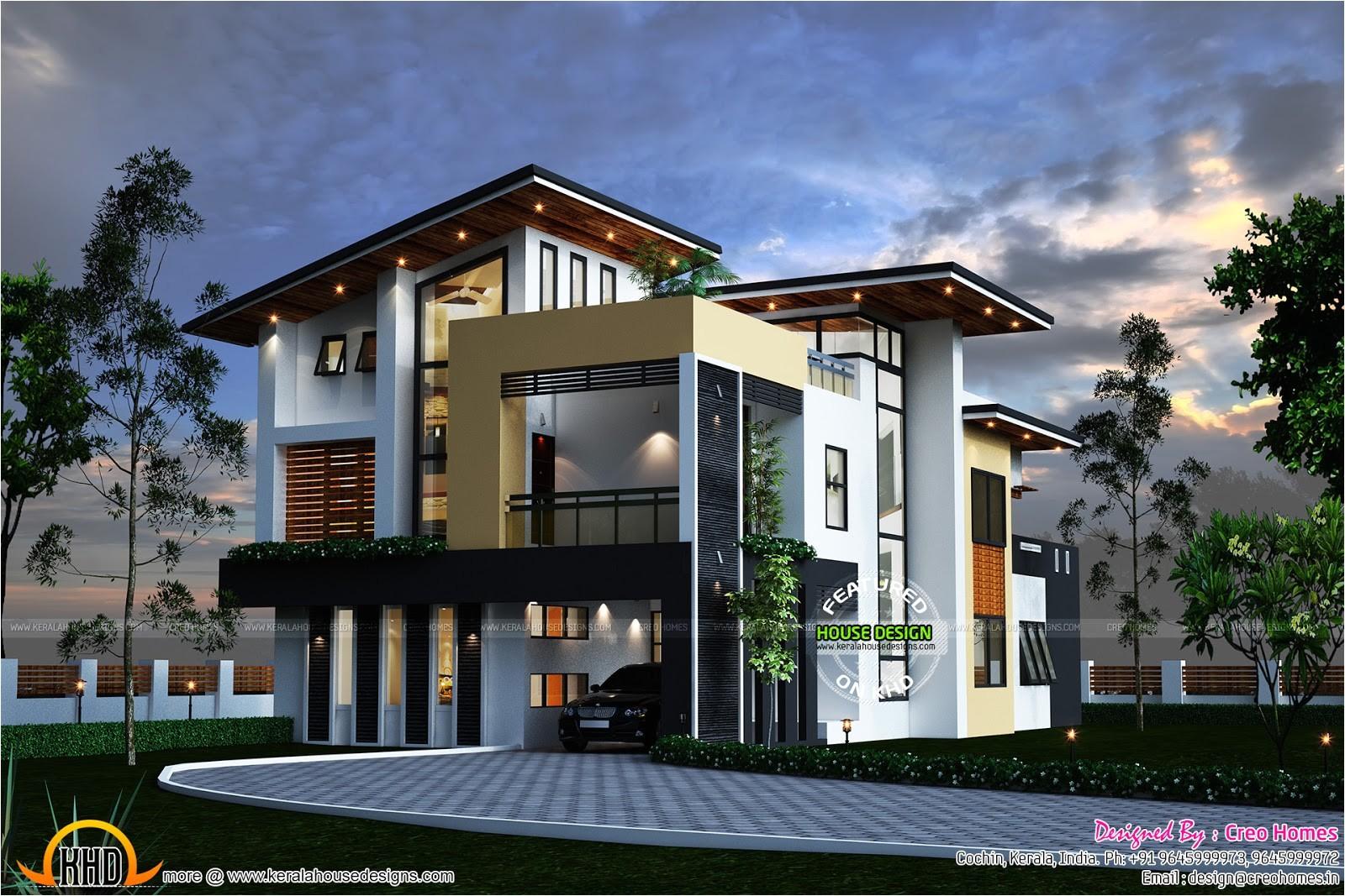 kerala contemporary house