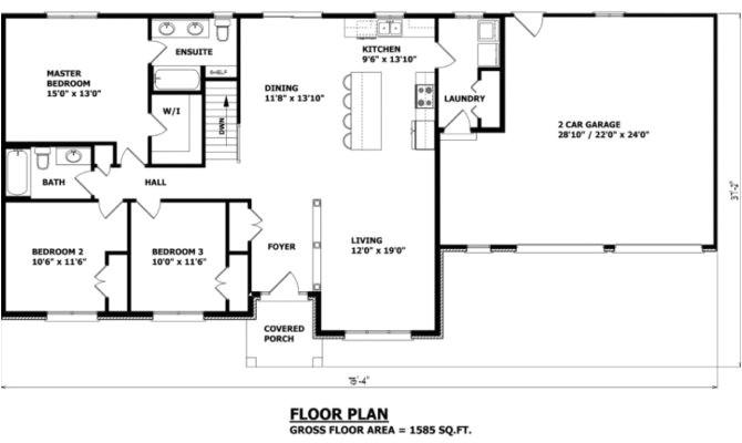 28 cool canadian bungalow floor plans