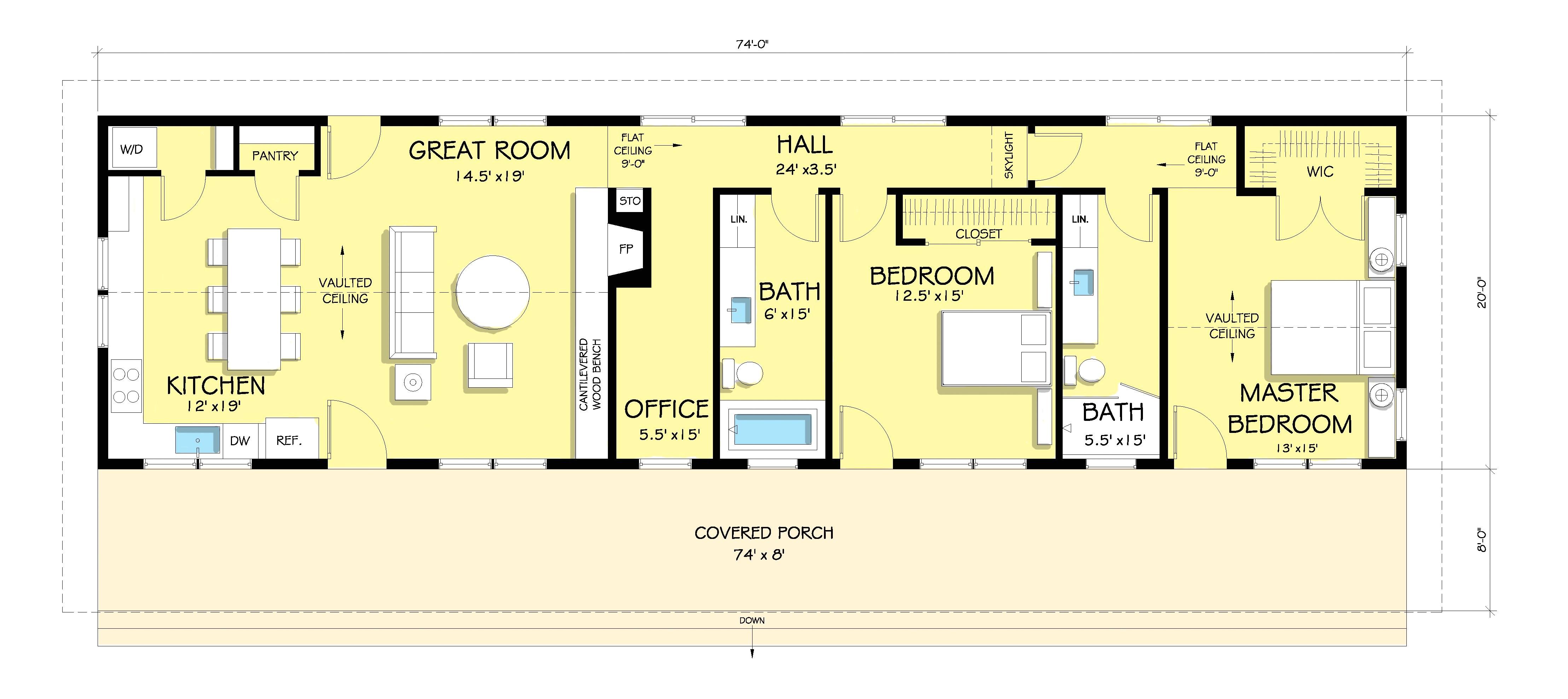 costa rica house floor plans