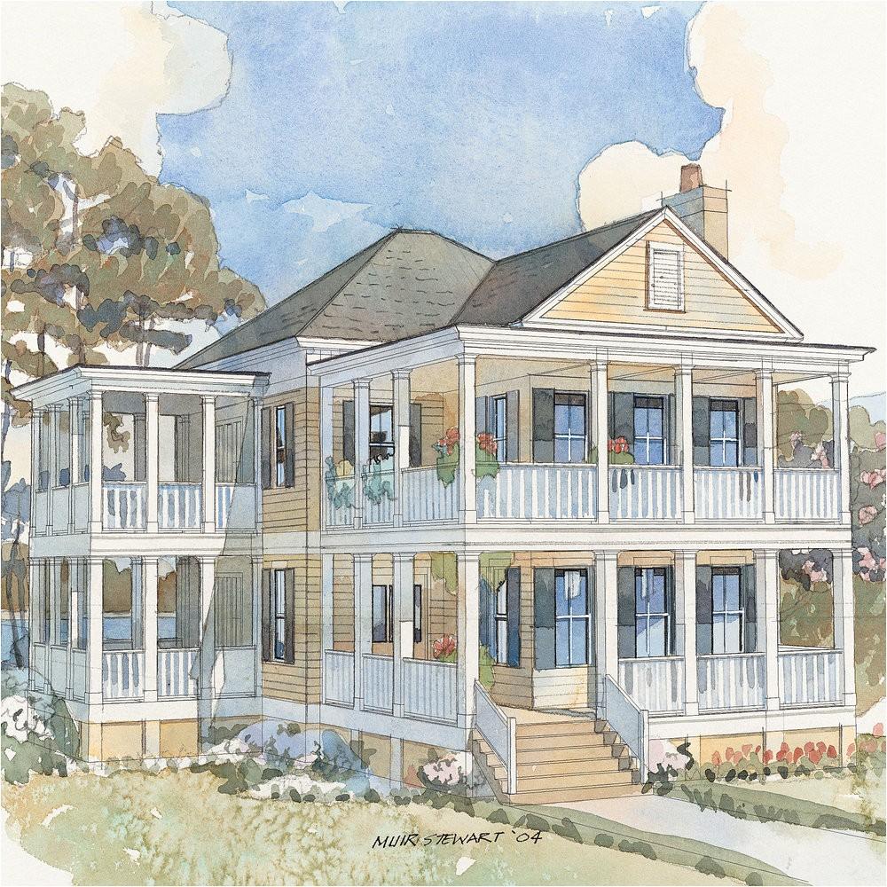 top house plans couples cottage