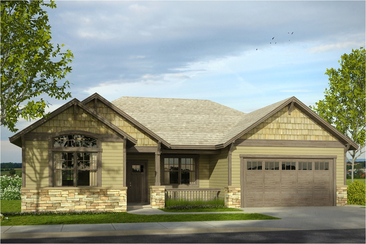 new cottage house plan has welcoming front porch