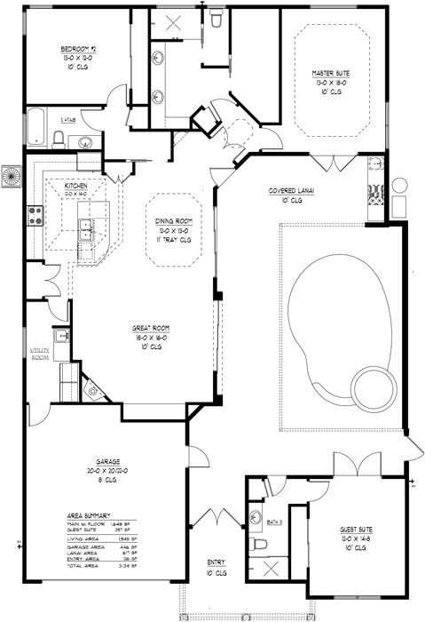 teamgainesville courtyardpoolhome