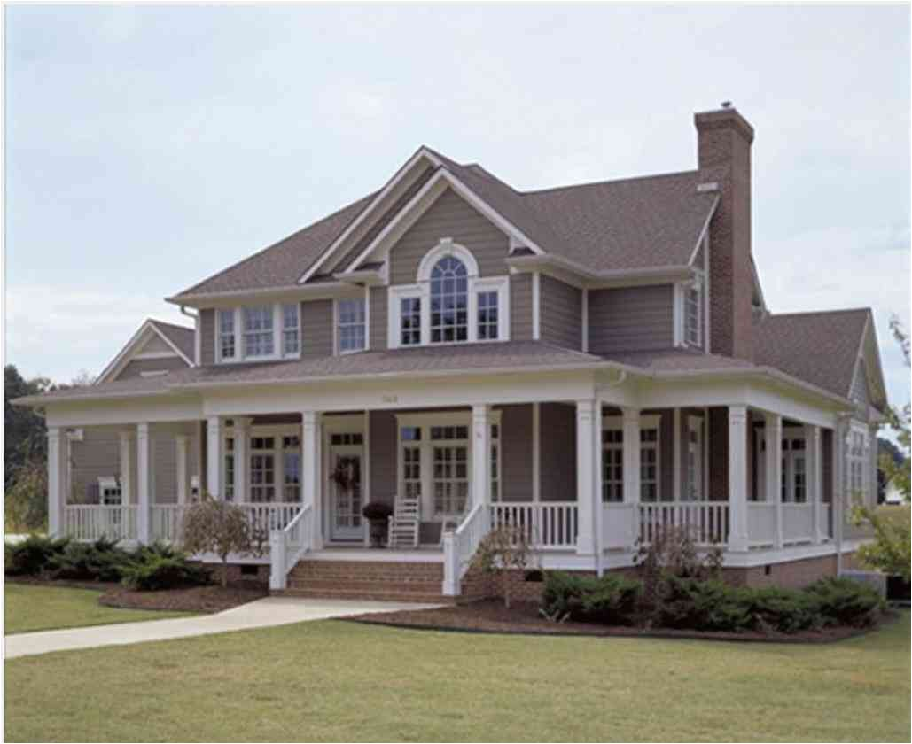 wrap around porch house plans