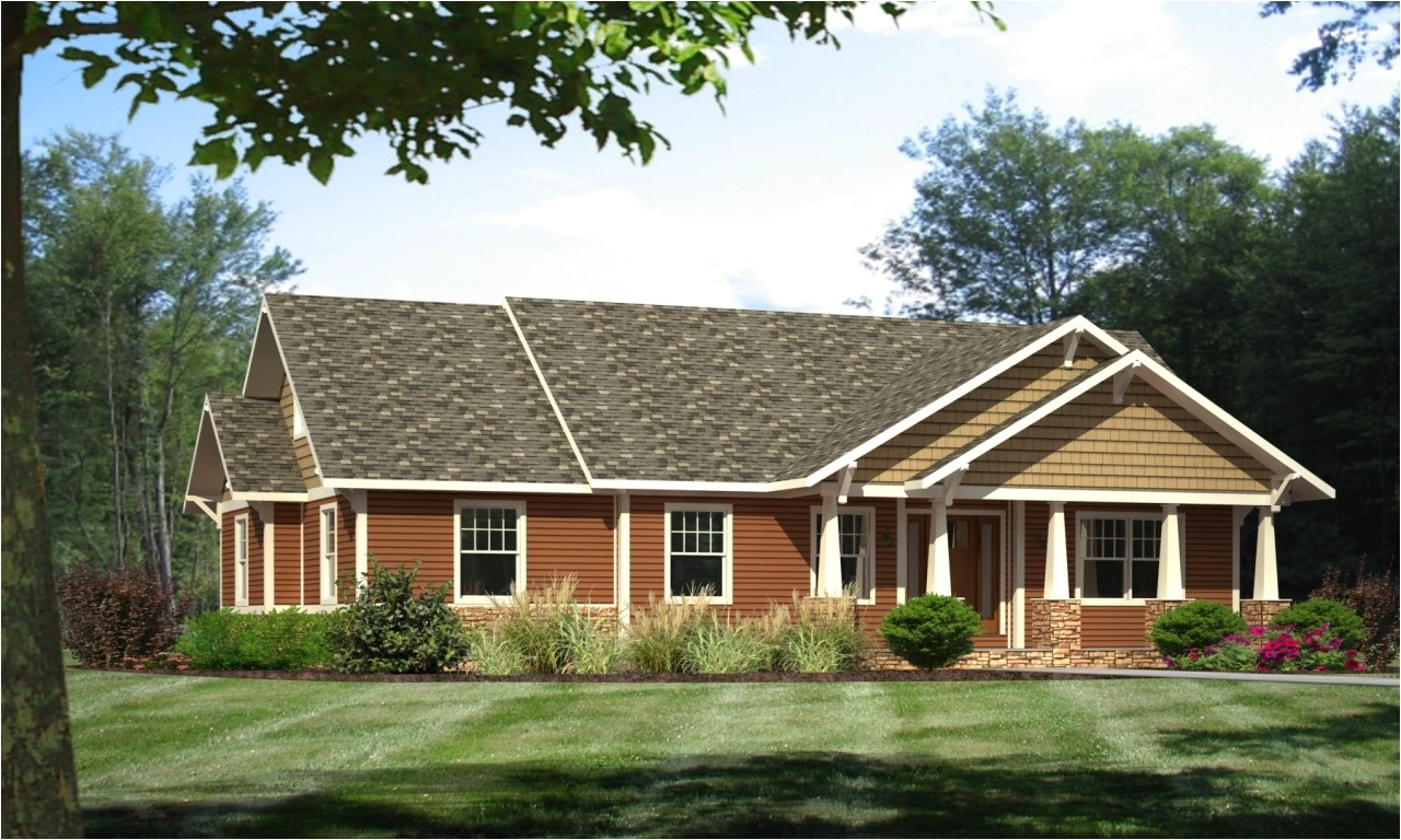 ba6f450d9ecad929 craftsman ranch style modular homes craftsman home plans with open concept
