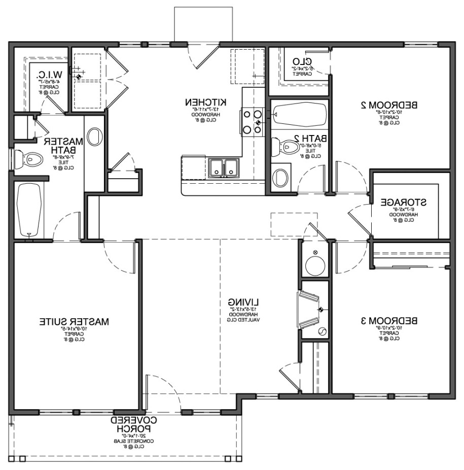 Create A Home Floor Plan Simple House Floor Plan Design Escortsea Design  Your Own
