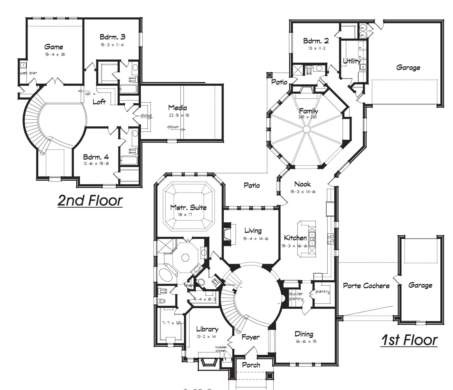house plans with hidden rooms