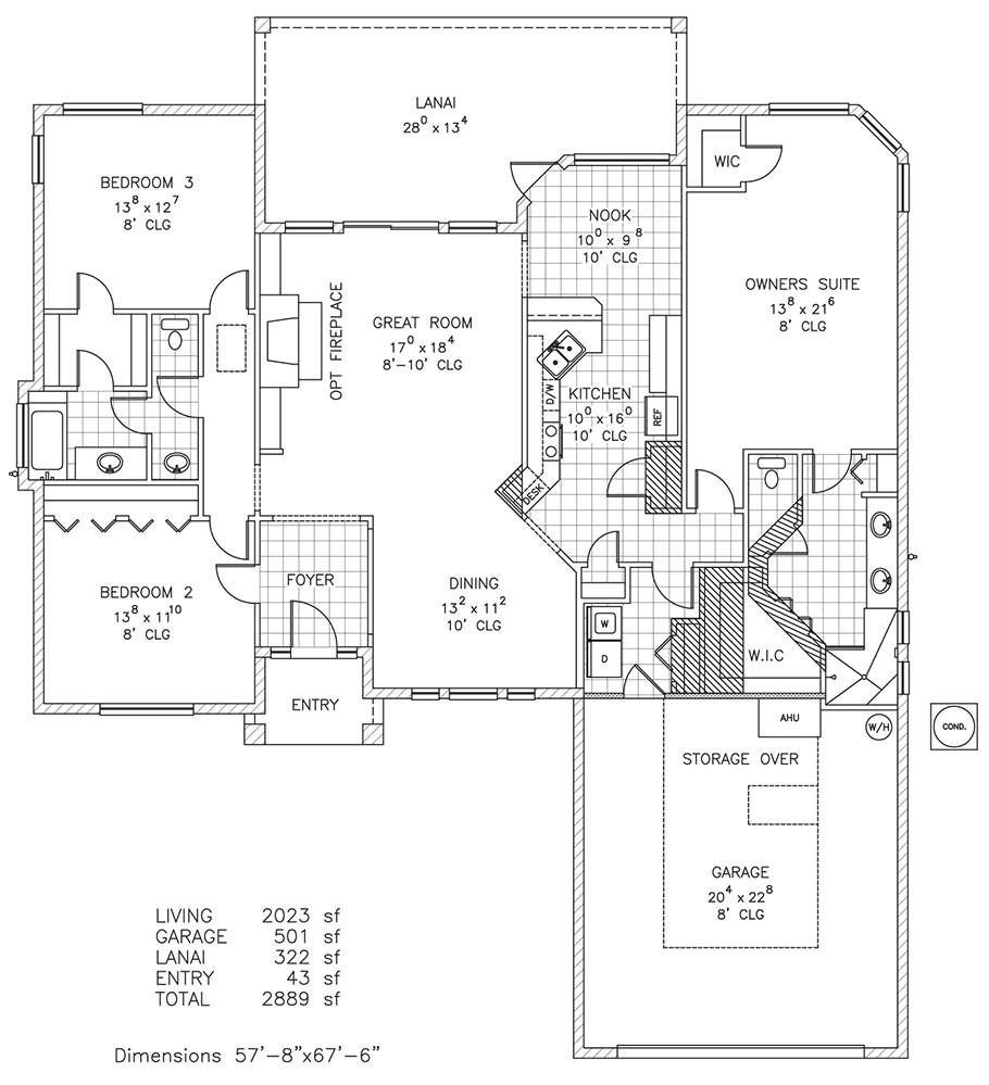 st james new home floor plan