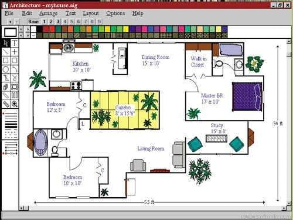 Customize your own house plans - How to design your own home floor plan ...