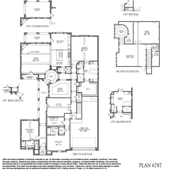 darling homes houston floor plans