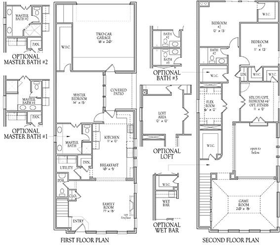 Darling Homes Floor Plans Pre Sales Begin On 30 39 Villas by Darling Homes Lakeside Dfw