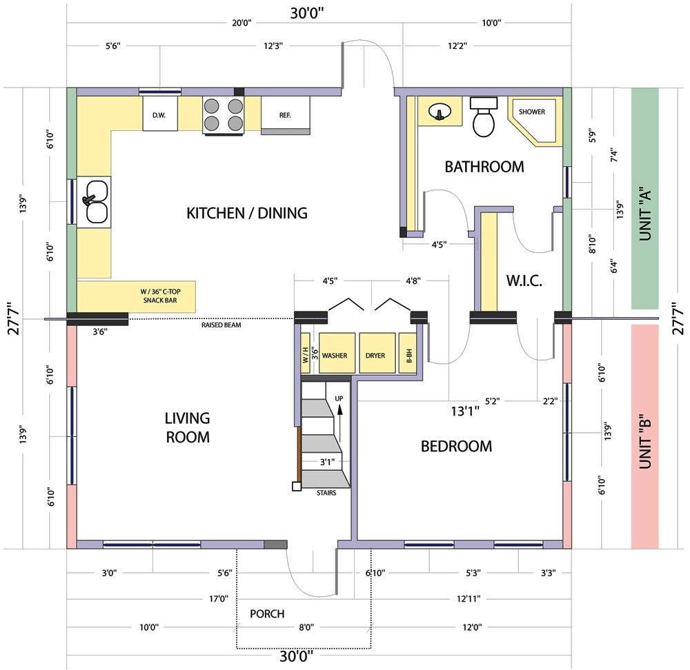floor plans and site plans design