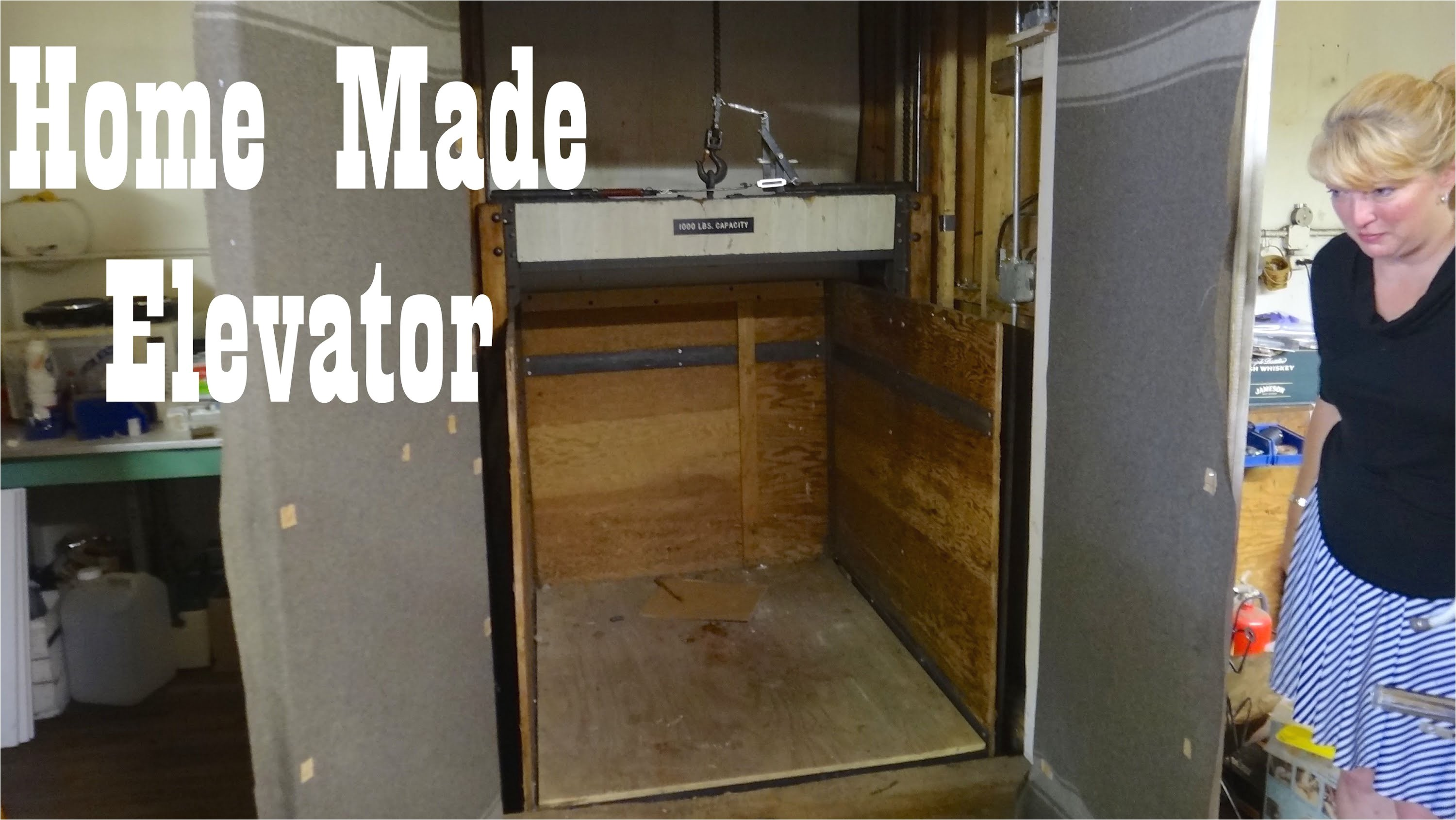 antique home made freight elevator hillsville youtube
