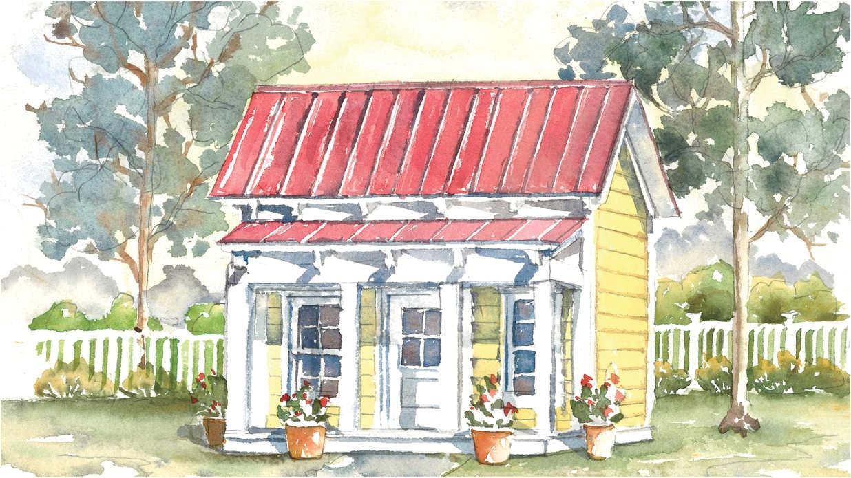 dogtrot house plan 1953