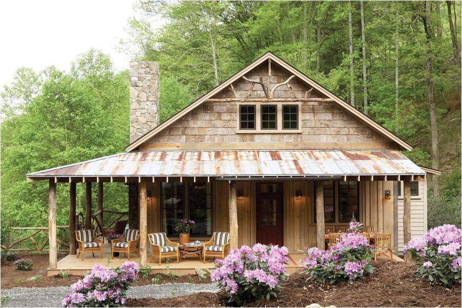 southern living modern dogtrot house plan