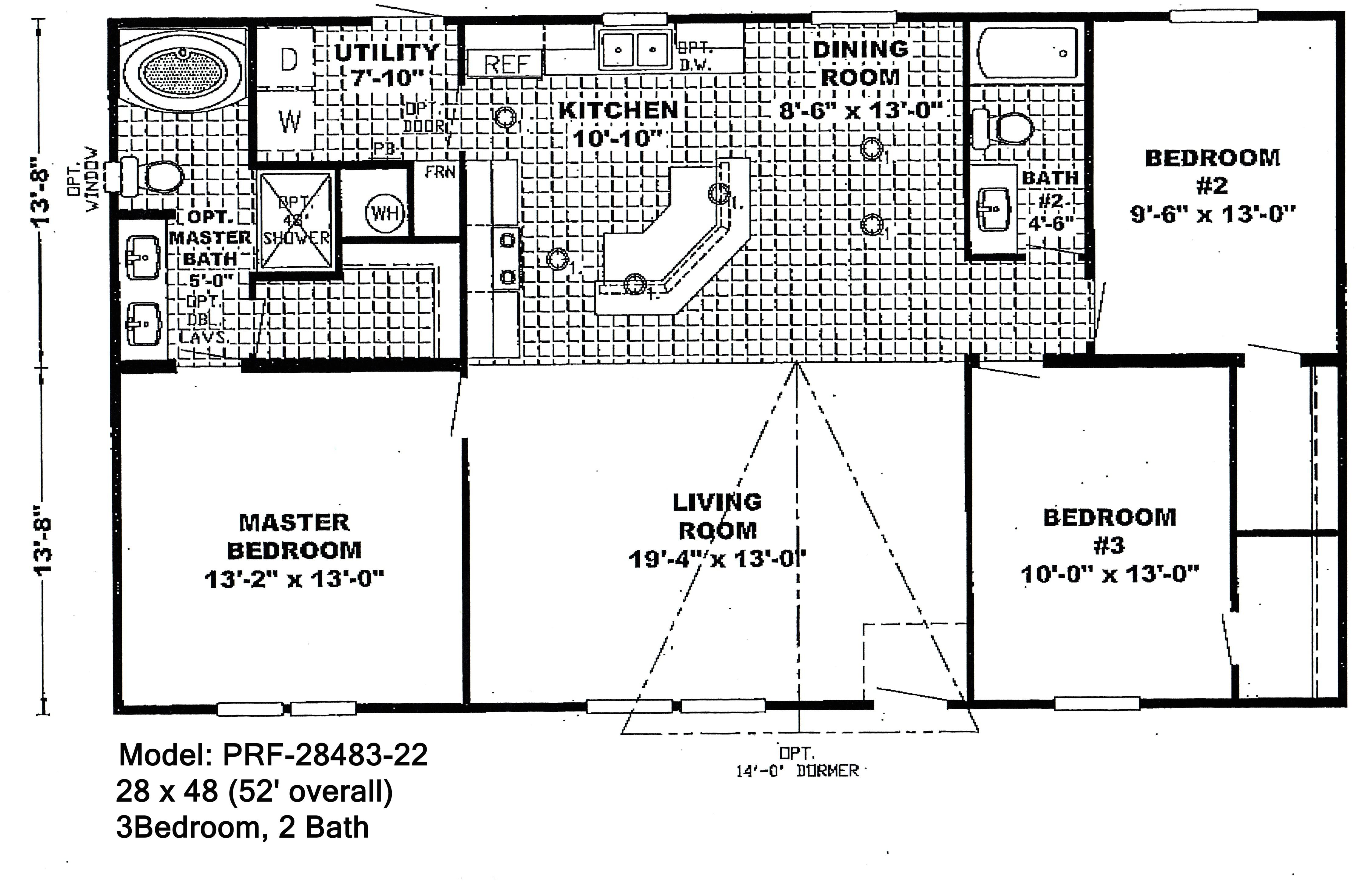 double wide floorplans 1830346