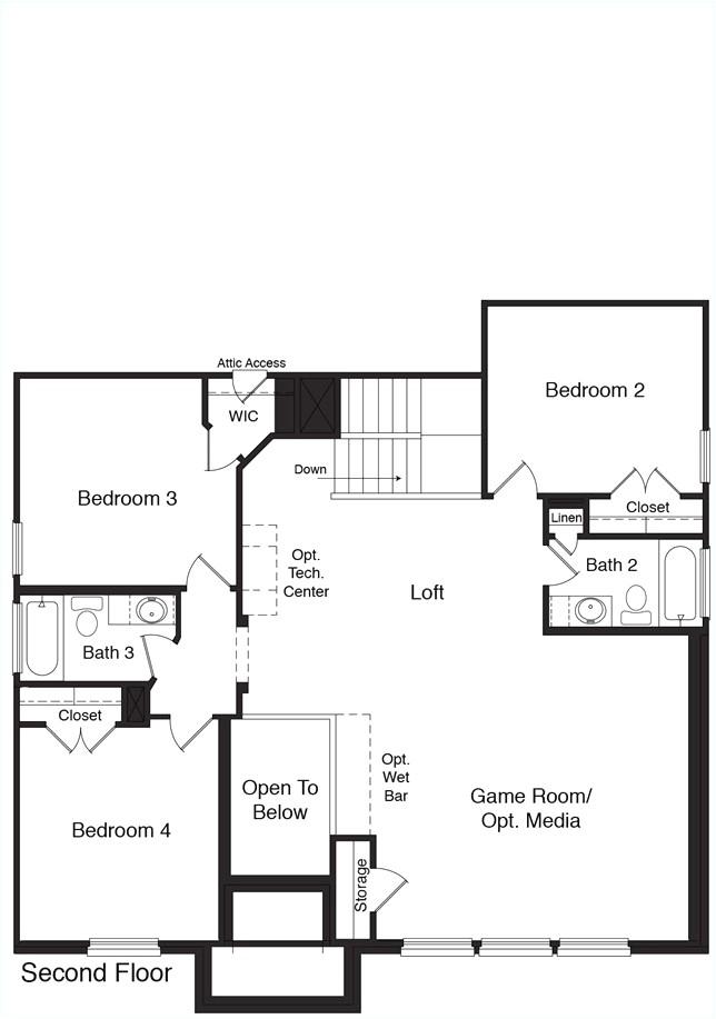 dr horton mckenzie floor plan bm