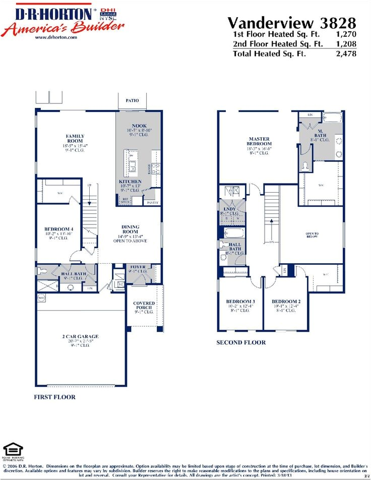 Dr Horton Home Share Floor Plans Dr Horton Vanderview Floor Plan Via Www Nmhometeam Com