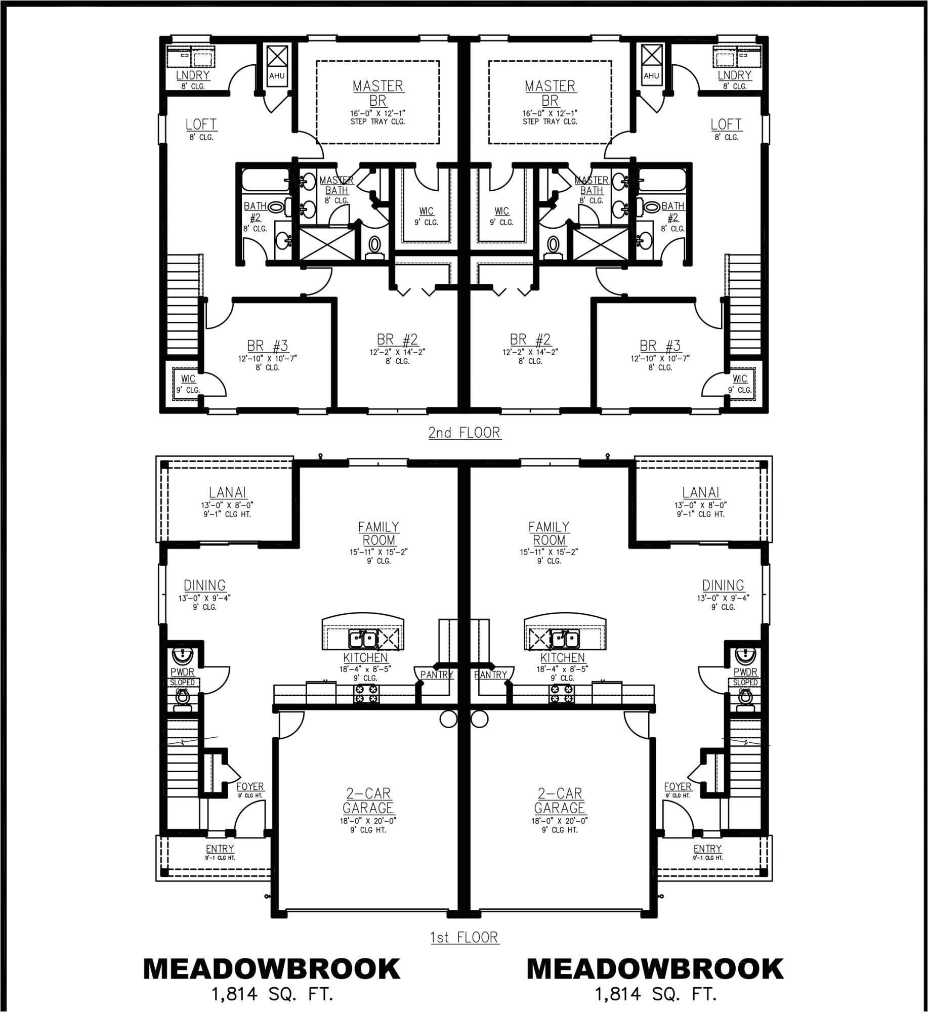 plantation homes floor plans