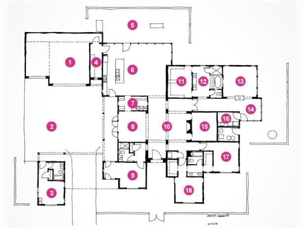 hgtv dream home 2010 floor plan and rendering