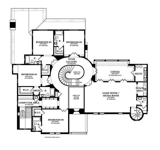 dream home floor plans