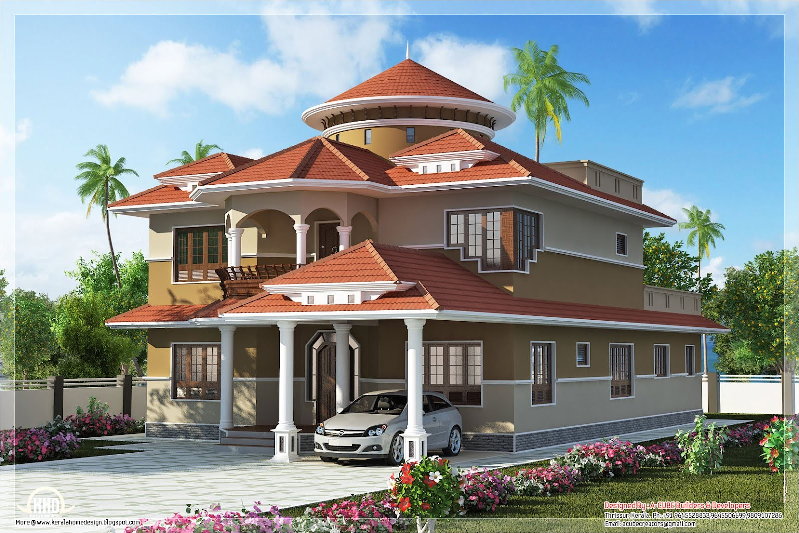 dream home design kerala