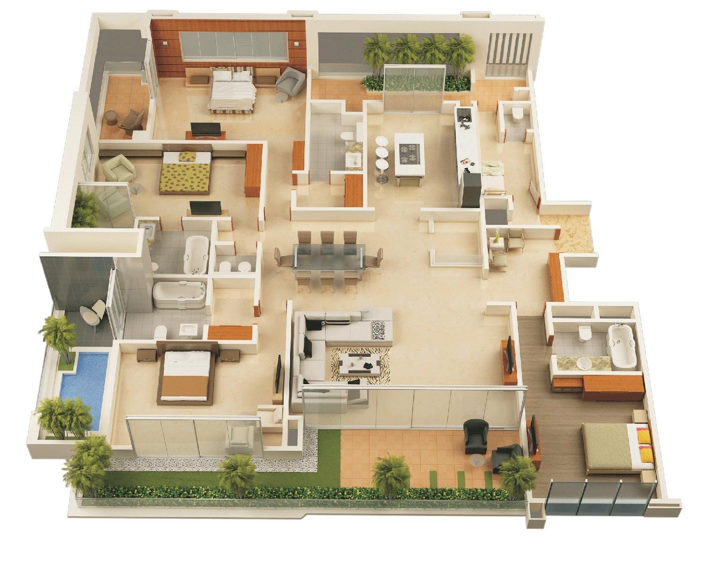 dream house plans in kerala