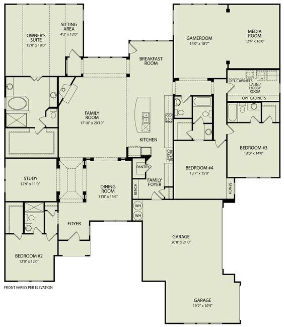 drees custom home floor plans