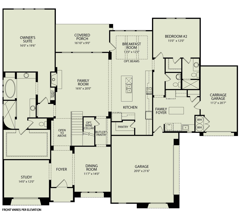 drees homes floor plans austin
