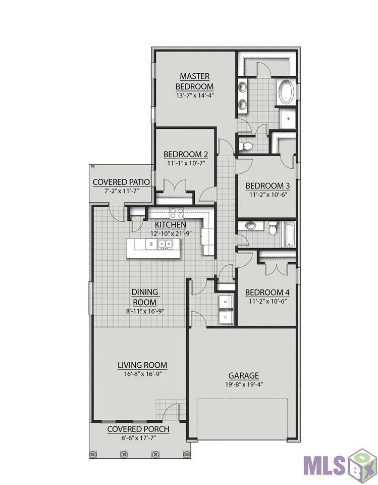 colonial house plan pictures