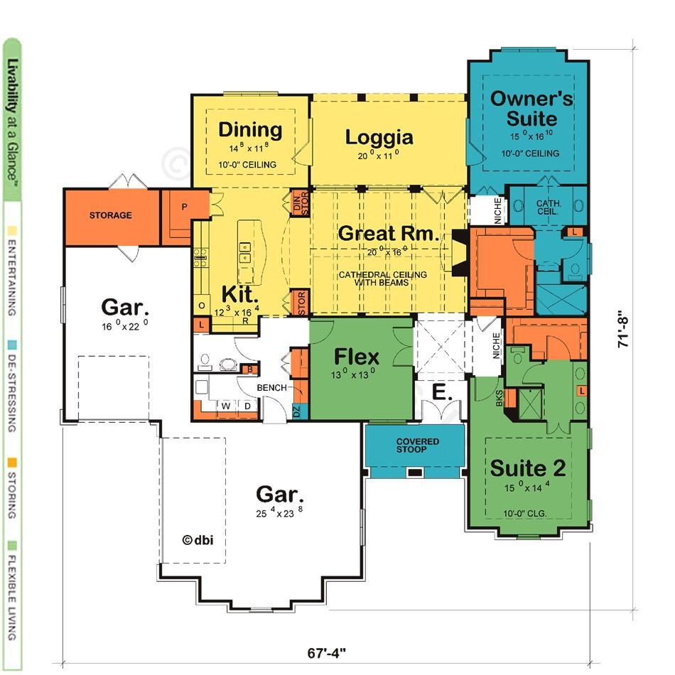 dual master suite house plans