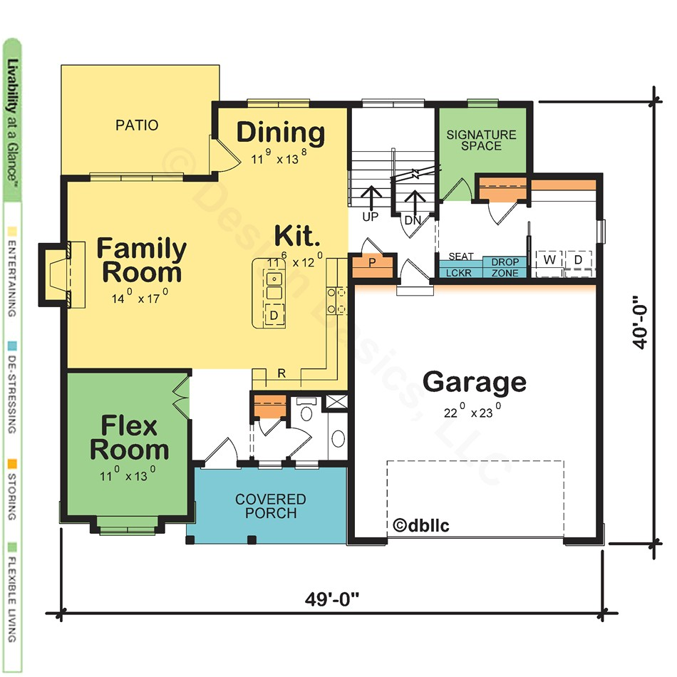 modern house plans with two master suites