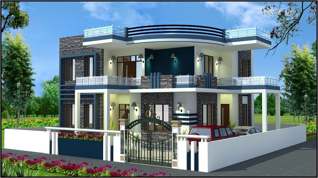 beautiful duplex home plan everyone will like