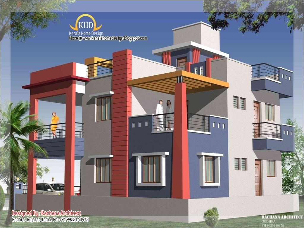 Duplex Home Plans In India Duplex House Exteriors Duplex House