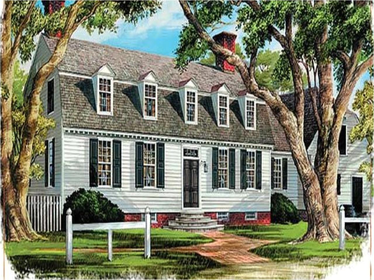 dutch colonial house plans