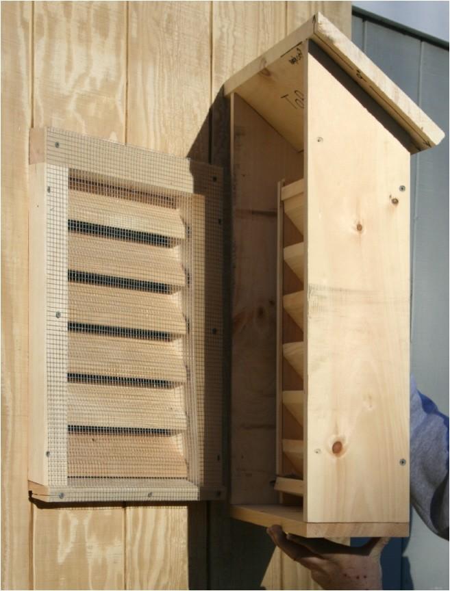 suburban bat house