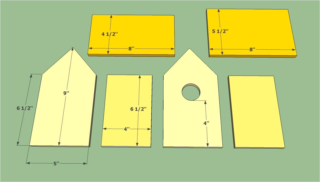 how to build a bird house