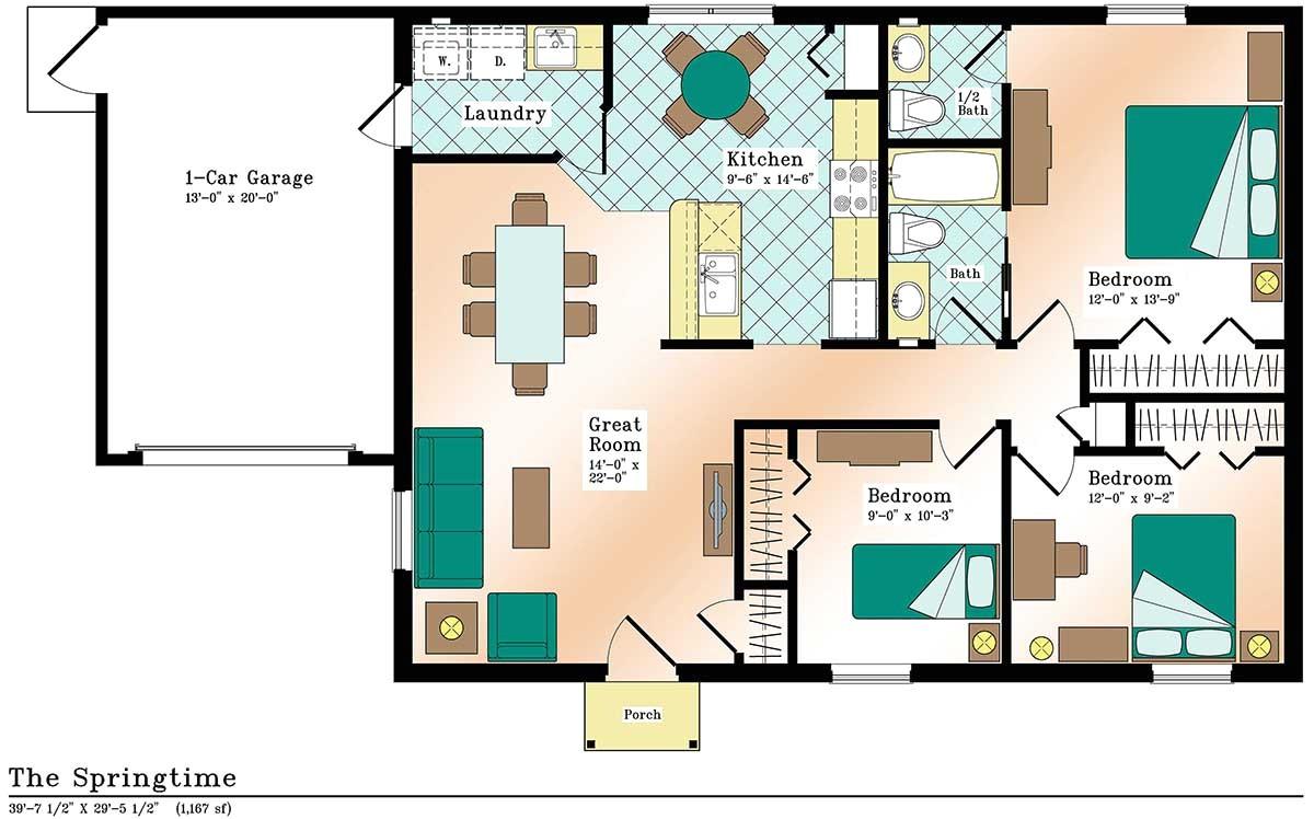 efficient home design plans