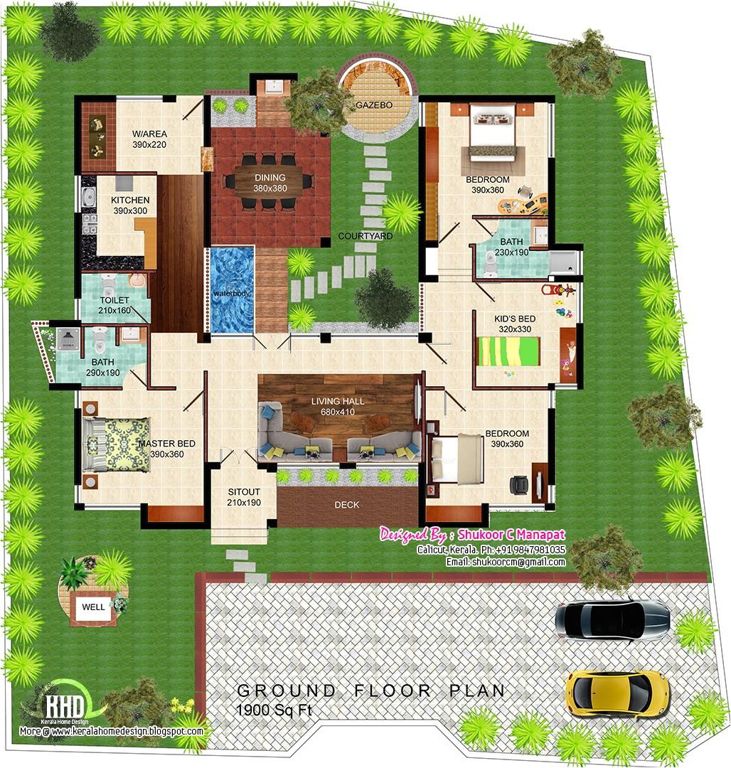 eco friendly home plan